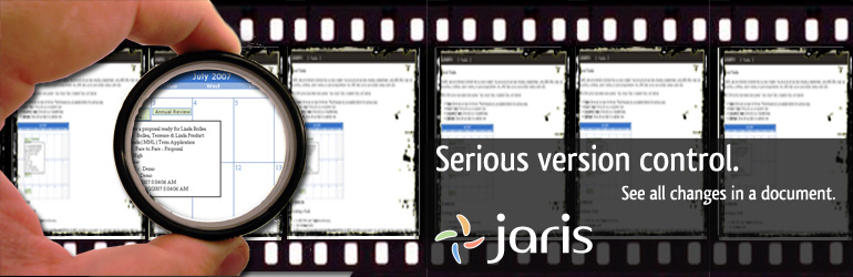 JARIS: Serious version control. See all changes in a document.